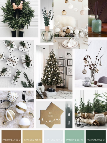 Christmas Home Decoration Ideas Stella Mannering Company Interior Design